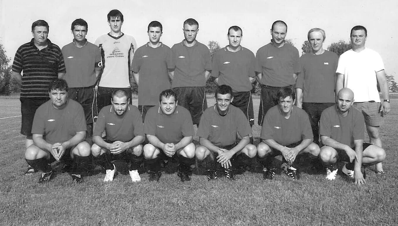 Članovi nogometnog kluba Palača-veterani