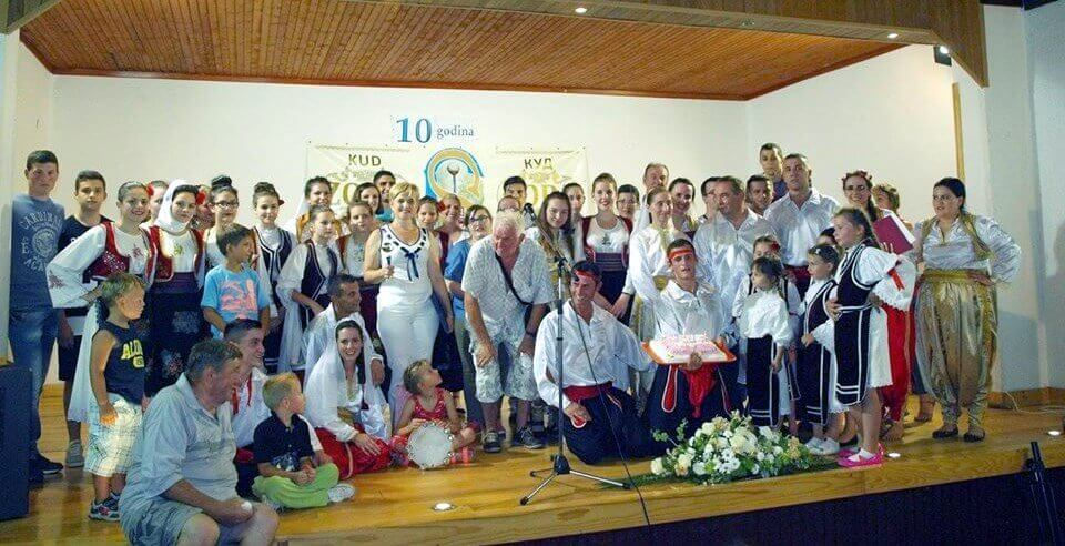 Proslava 10 godina KUD-a Zora, Silaš