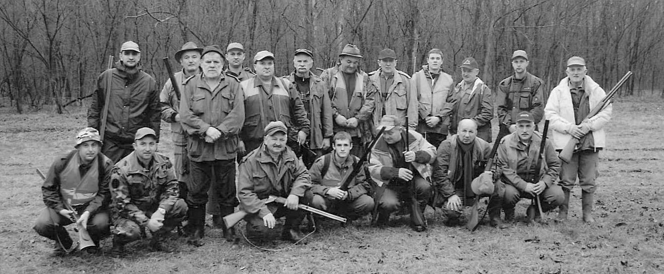 Članovi lovačkog društva Orao, Silaš