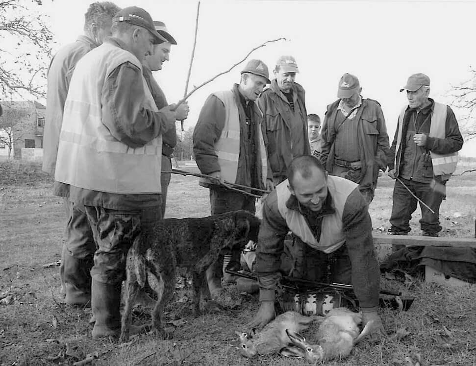 Krštenje novog člana lovačkog društva Orao iz Silaša